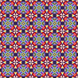festive pattern in tribal style