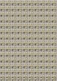 metallic maze pattern