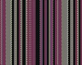 Vertical coloured strips on fabric with texture