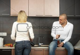 Amusing couple