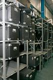 Rack of boxes
