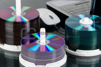 Three packs of data DVD