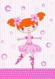 Ballet girl red