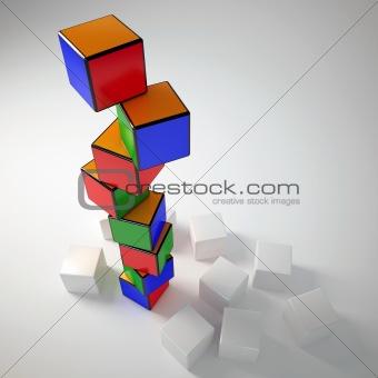 cube buildings