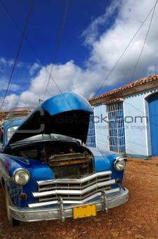 Oldatimer in Trinidad, cuba