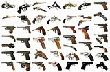 Pistols Pack One - Weapons Photo Packs