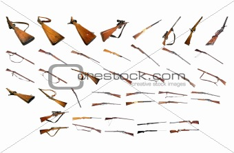 Rifles Pack Two - Weapons Photo Packs