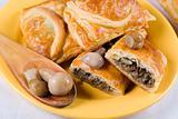 pasty with mushroom