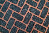 Asphalt brick texture