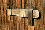Wooden Barn Latch