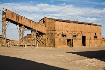 Abandoned City - Santa Laura and Humberstone