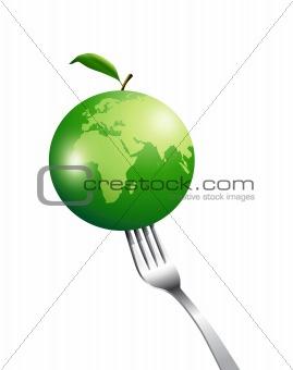 green apple planet