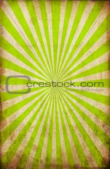 grunge green ray design