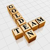 golden team crossword