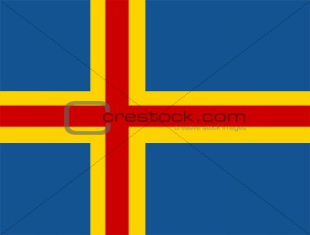 flag of Aaland