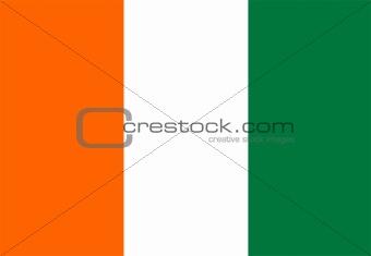 flag of Cote D`Ivoire