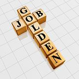 golden job crossword