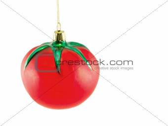 Tomato Christmas Ornament