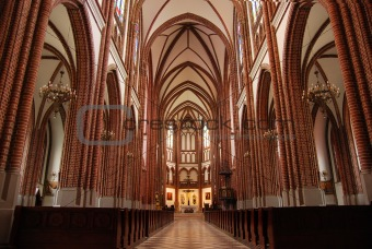 Catholic church inside