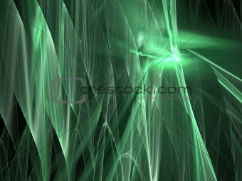 Abstract background. Green palette.