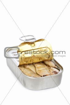 Tin canned sardines
