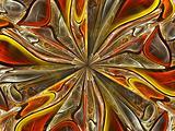 Metallic Fire Flower