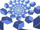 Spiraled Cubes