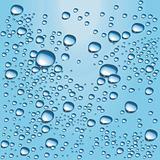 Vector blue water bubbles
