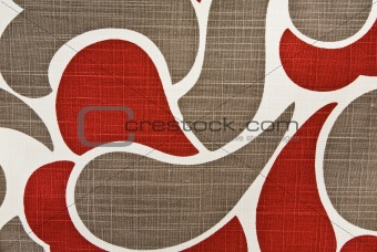 Abstract Cotton Fabric  Background Pattern