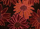 Floral Cotton Tapestry Fabric Background Pattern