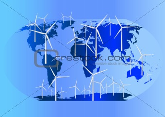 Wind Turbines Globally