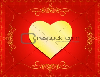 Classic Heart with Border