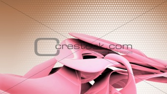 3d abstract illustration