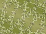 Seamless oriental pattern in grassy colors