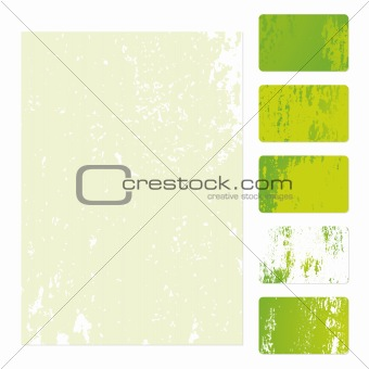 Grunge Business Cards Template