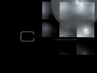 Abstract background. Black - gray palette.