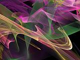 Abstract background. Purple - green palette.