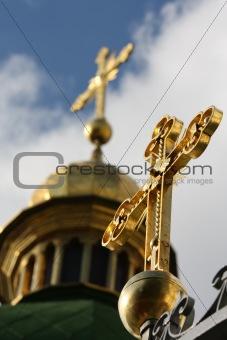 Cross on Saint Sophia cathedral, Kiev