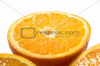 One big orange