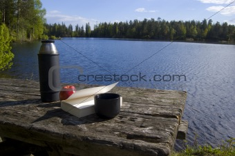 A cup of cofe in the wild