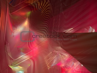 Abstract background. Pink - yellow palette.