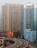Urban highway in Shanghai