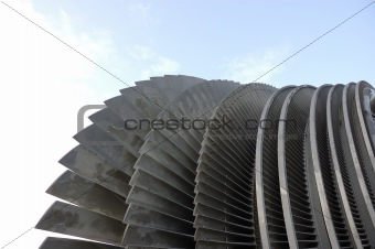 turbine of a power plant