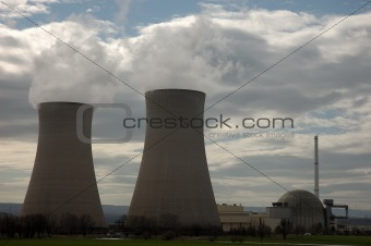 atomic power plant