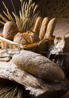 Arrangement of English loaf