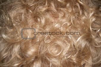 blonde hair background