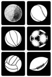 Six Type of Sport Ball