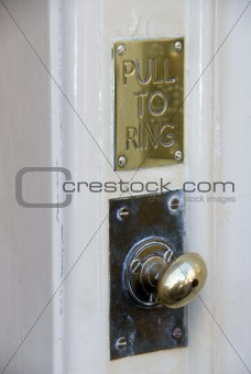 Old Fashioned Door Bell