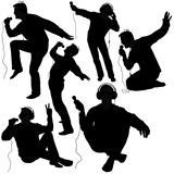 DJs 04 - Deejay silhouettes