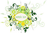 Floral Background - vector illustration
